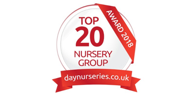 We have been voted top 20 nursery!