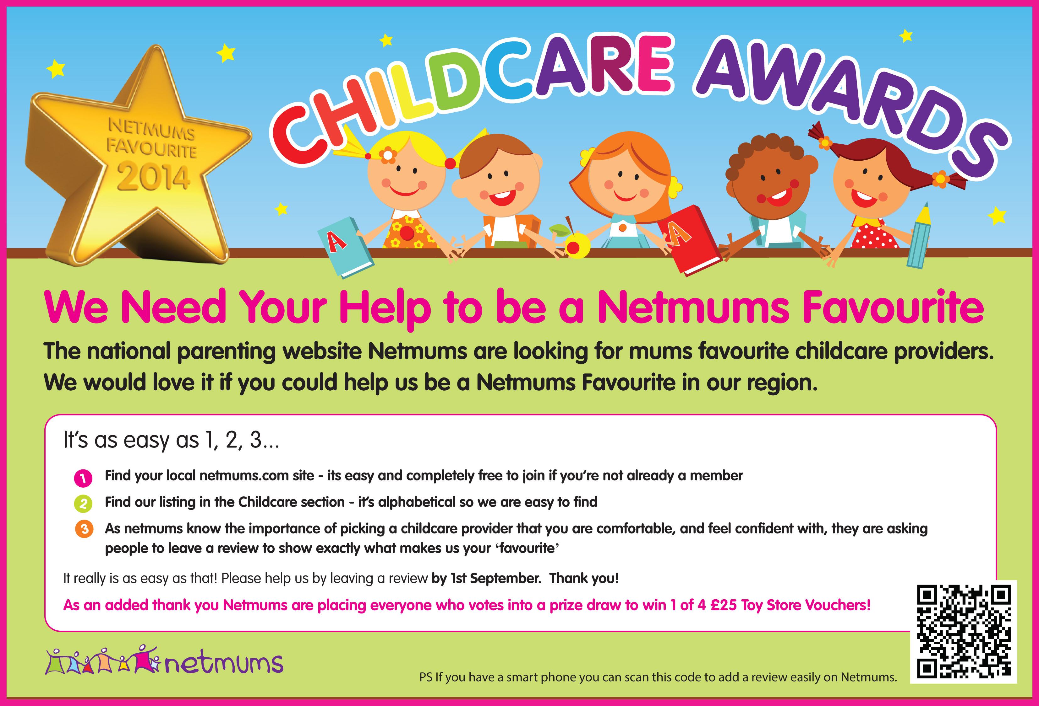 Netmums childcare awards